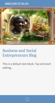 MBELEBUZZ BLOG screenshot 1