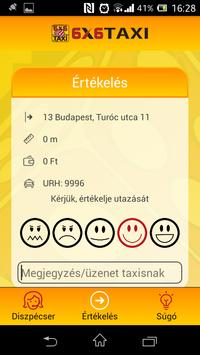 6x6 Taxi Rendelés screenshot 1