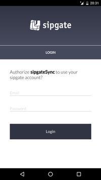 sipgateSync (Unreleased) apk screenshot