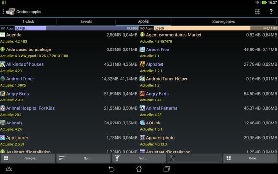 3C System Tuner captura de pantalla 8