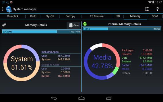 3C System Tuner captura de pantalla 10