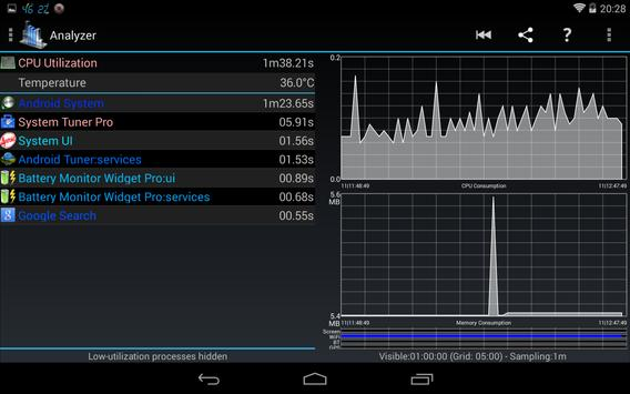 3C System Tuner captura de pantalla 11