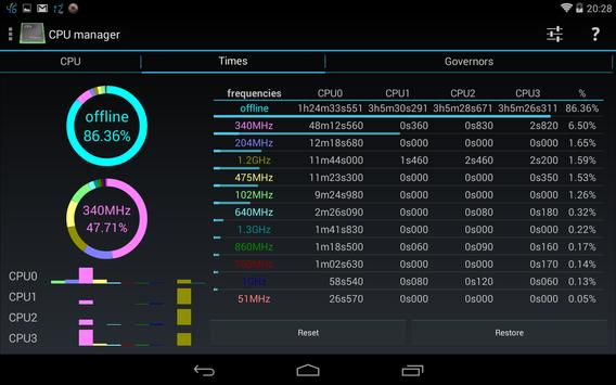 3C System Tuner captura de pantalla 12