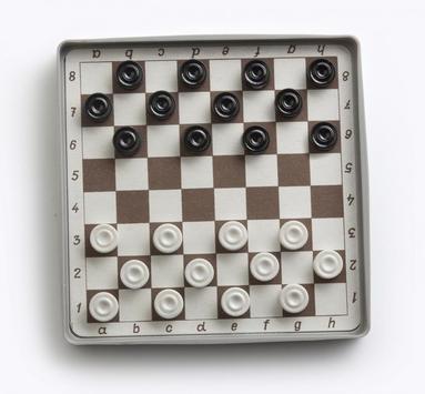 Dama Checkers poster