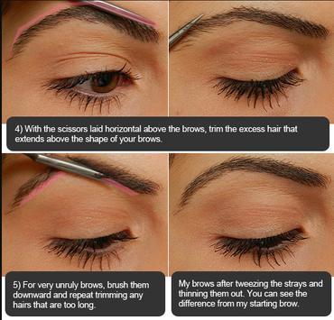 Eyebrow Makeup Tutorial screenshot 19
