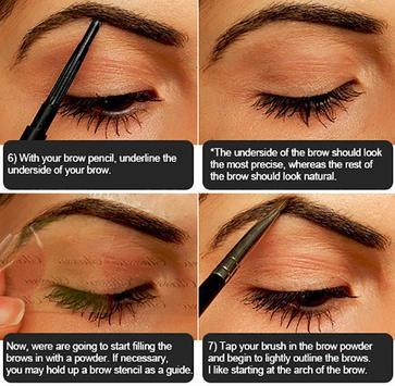 Eyebrow Makeup Tutorial screenshot 20