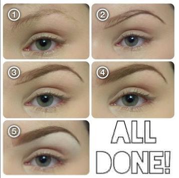 Eyebrow Makeup Tutorial screenshot 4