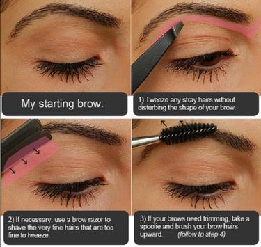 Eyebrow Makeup Tutorial screenshot 5