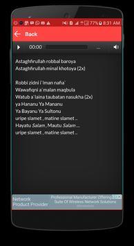 Lagu Mafia Sholawat Offline Plus Lirik apk screenshot