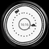 Rabbit Turtle watchface race icon
