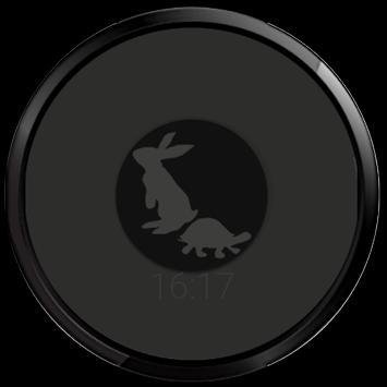 Rabbit Turtle watchface race apk screenshot