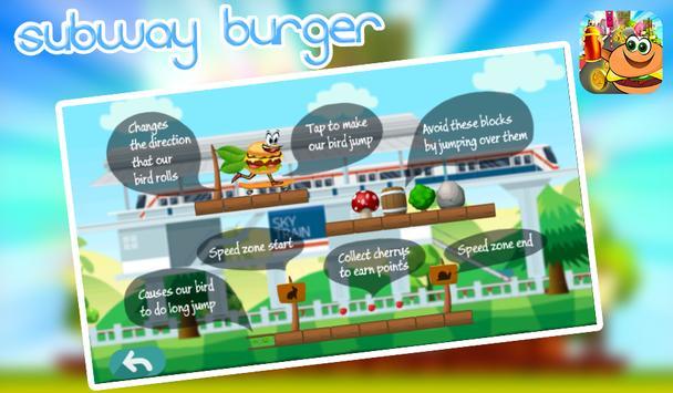 subway burger screenshot 3