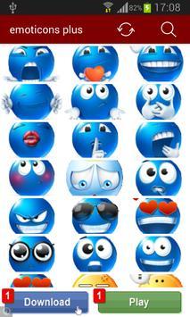 emoticons plus poster