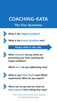 KATA The 5 Coaching Questions poster