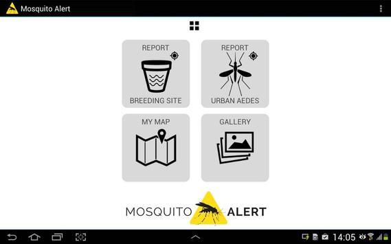 Mosquito Alert apk screenshot
