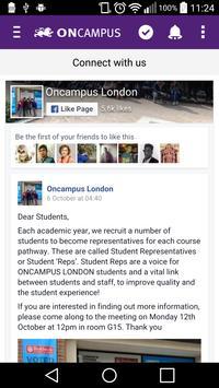 ONCAMPUS London PreArrival screenshot 5