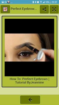 Perfect Eyebrows for Women screenshot 4