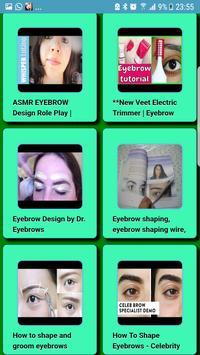 Perfect Eyebrows for Women screenshot 1