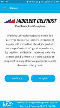 Feedback & Complain Management System screenshot 1