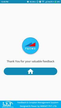 Feedback & Complain Management System screenshot 6