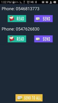 הפצת הודעות SMS בחינם apk screenshot