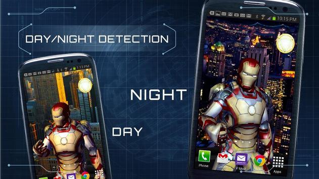 Iron Man 3 Live Wallpaper Apk Screenshot