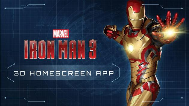 Iron Man 3 Live Wallpaper Poster