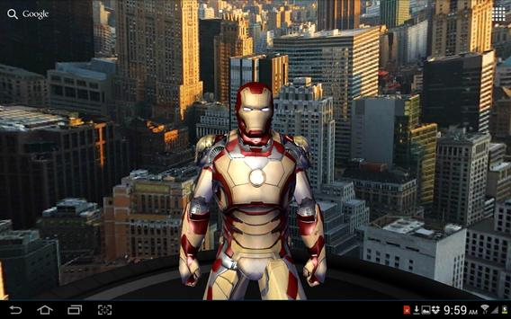 Iron Man 3 Live Wallpaper Apk Screenshot