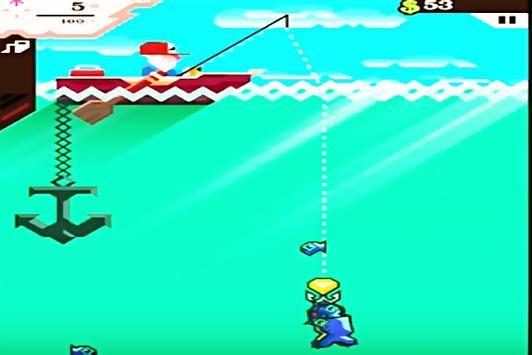 Hint Ridiculous Fishing screenshot 1