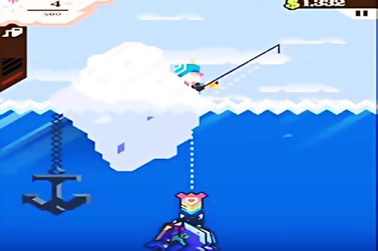 Hint Ridiculous Fishing screenshot 2