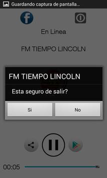 FM TIEMPO LINCOLN poster