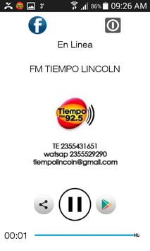 FM TIEMPO LINCOLN apk screenshot