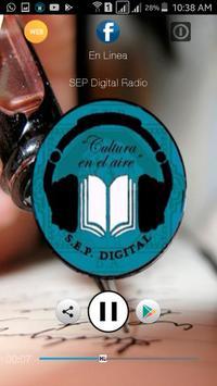 SEP Digital Radio poster