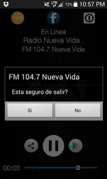 FM 104.7 Nueva Vida poster