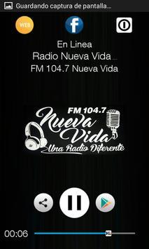 FM 104.7 Nueva Vida apk screenshot