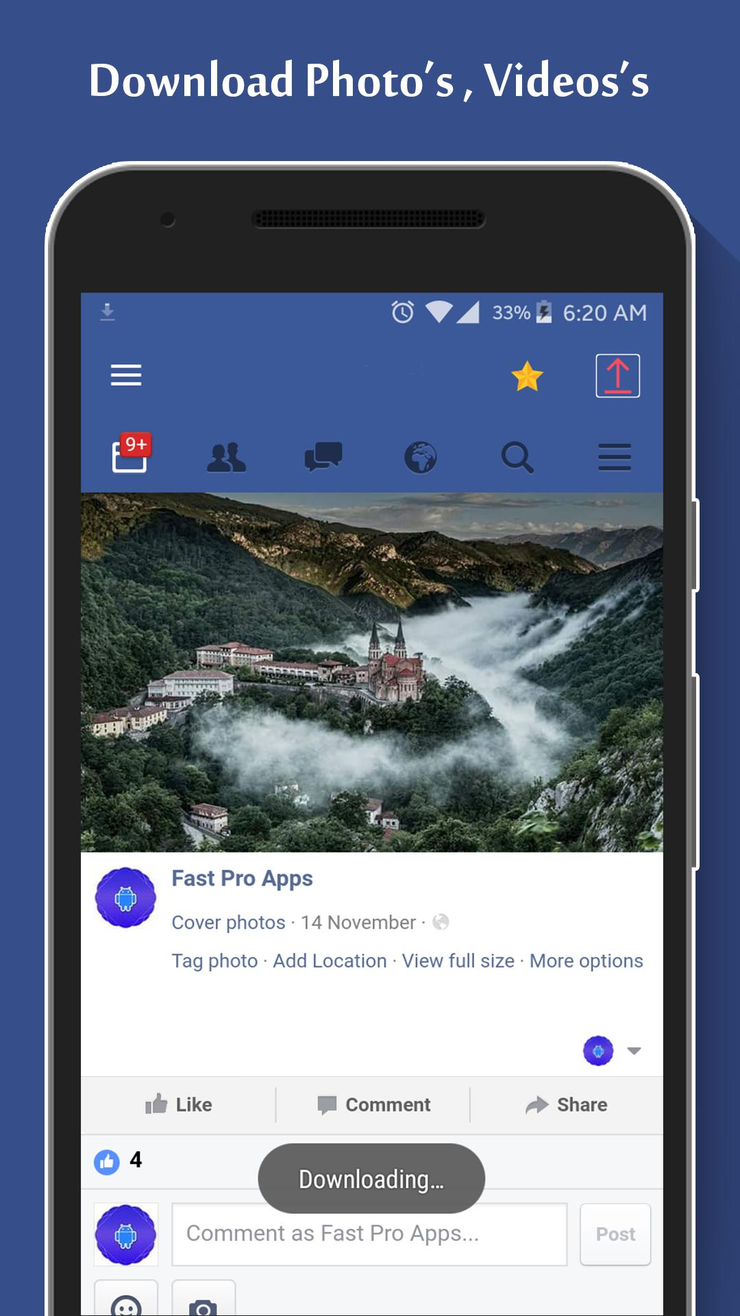 FastWeb For Facebook for Android - APK Download
