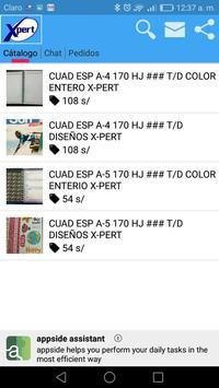 Productos X-pert screenshot 1