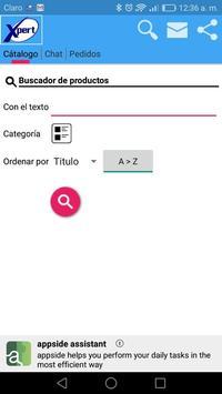 Productos X-pert screenshot 2
