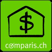 Mortgage interest Switzerland icon