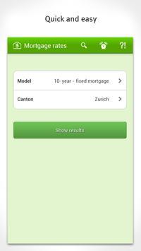 Mortgage interest Switzerland poster