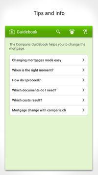 Mortgage interest Switzerland apk screenshot