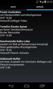Menuplan BIT Zollikofen apk screenshot