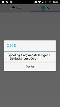 CSCS Native Scripting screenshot 1