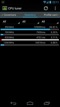 4 Schermata CPU tuner