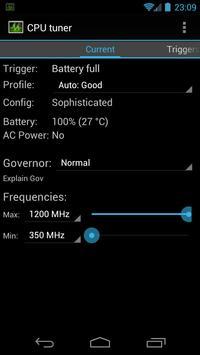 CPU Tuner (Телефоны с рутом) постер