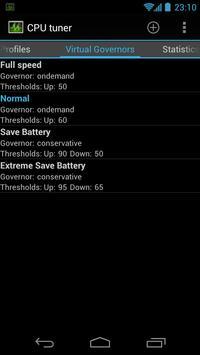 CPU Tuner (Телефоны с рутом) скриншот 3