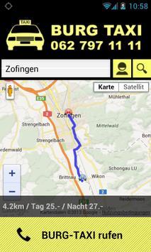 Burg Taxi screenshot 1