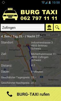 Burg Taxi screenshot 2