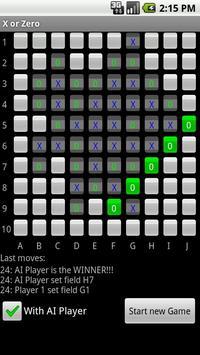 X or Zero apk screenshot