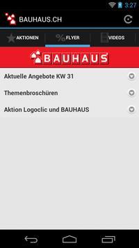 BAUHAUS.CH apk screenshot
